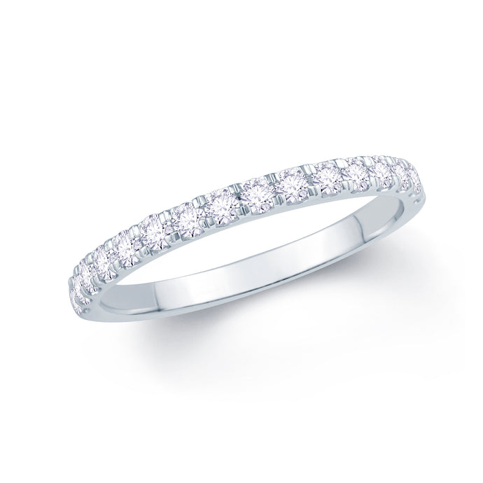 Platinum 0.30ct Split Claw Set 2mm Diamond Ring