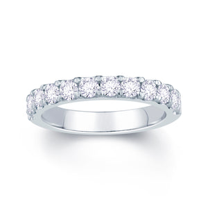 Platinum 0.85ct Split Claw Set 3mm Diamond Ring