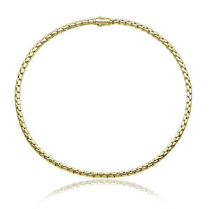 Chimento Stretch Spring 18ct Gold Necklace