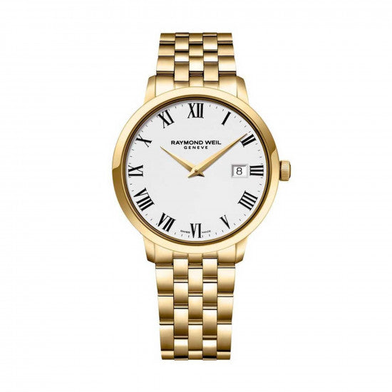 Raymond Weil Men's Toccata Gold Watch