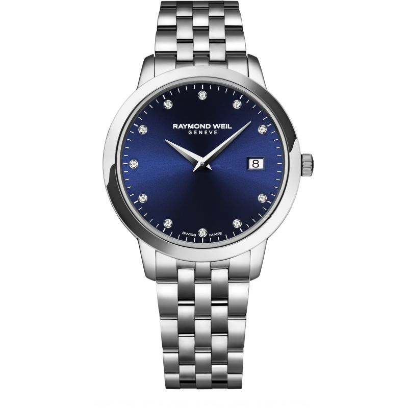 Raymond Weil Toccata Diamond Bracelet Watch Ladies, 34mm