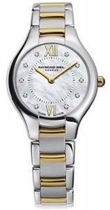 Raymond Weil Noemia Ladies Quartz Two Tone 10 Diamond Watch