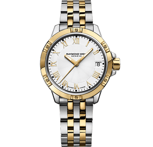 Raymond Weil Tango Classic Ladies Quartz Two-Tone Gold Steel Bracelet Watch