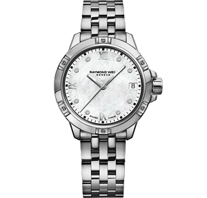 Tango Ladies 30mm, MOP Dial, 8 Diamonds