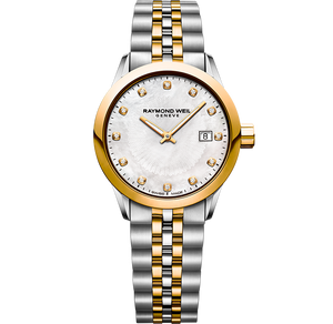 Raymond Weil Freelancer Ladies Diamond Two Tone Watch