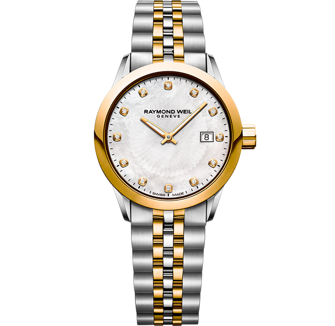 Raymond Weil Freelancer Ladie Diamond Two-Tone Watch