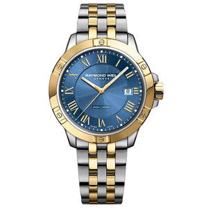 Raymond Weil Tango Blue Dial Mens Watch