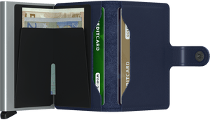 SECRID Mini Wallet Navy