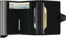 Load image into Gallery viewer, SECRID Twin Wallet Black