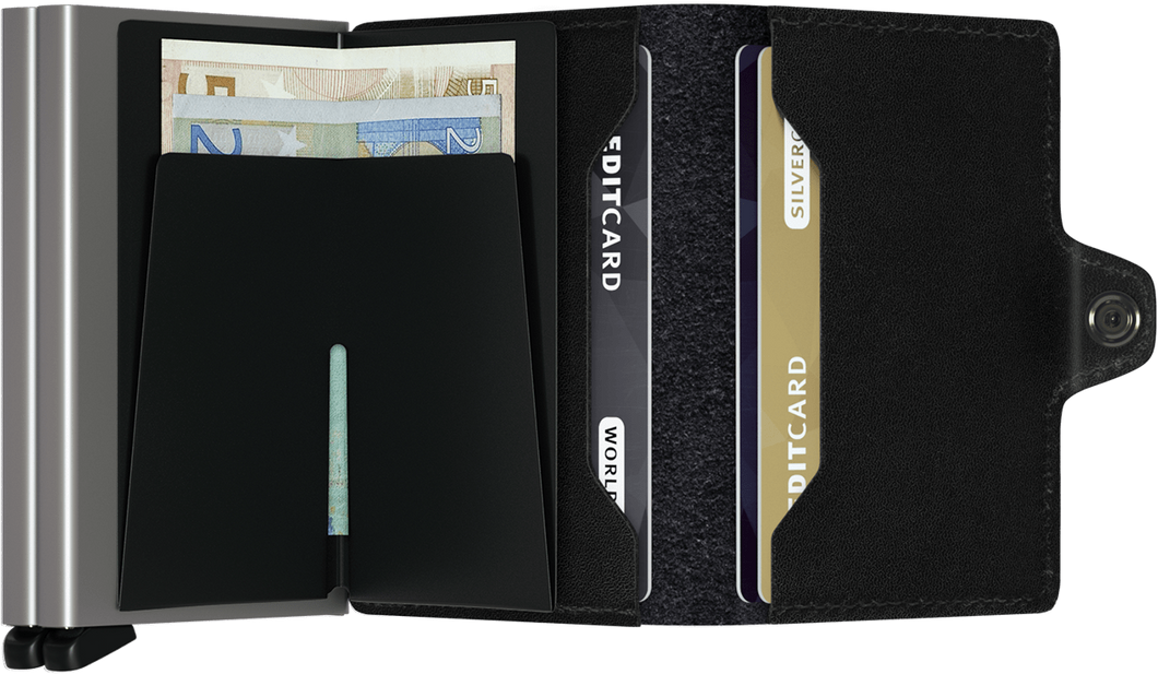 SECRID Twin Wallet Black