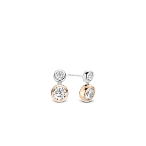Ti sento Rose and Sterling silver