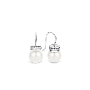 Ti Sento Pearl Ball Drop Earring