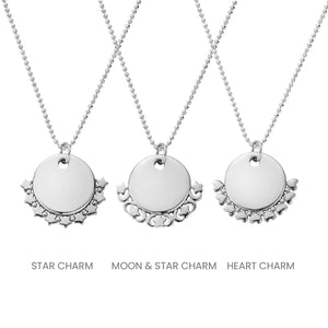 ChloBo Diamond Cut Adjuster Star Necklace