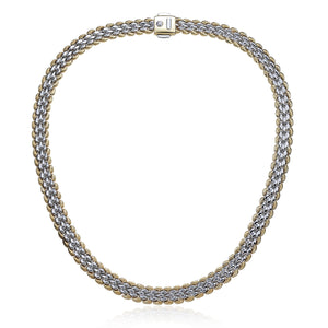 Chimento 18ct White & Yellow Gold Necklace