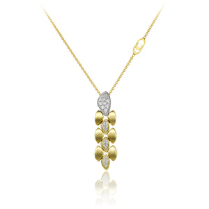 Chimento Mosaico 18ct Yellow Gold & Diamond Necklace