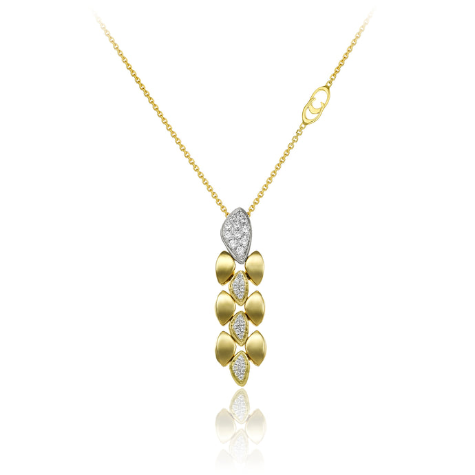Chimento 18ct Yellow Gold & Diamond Necklace