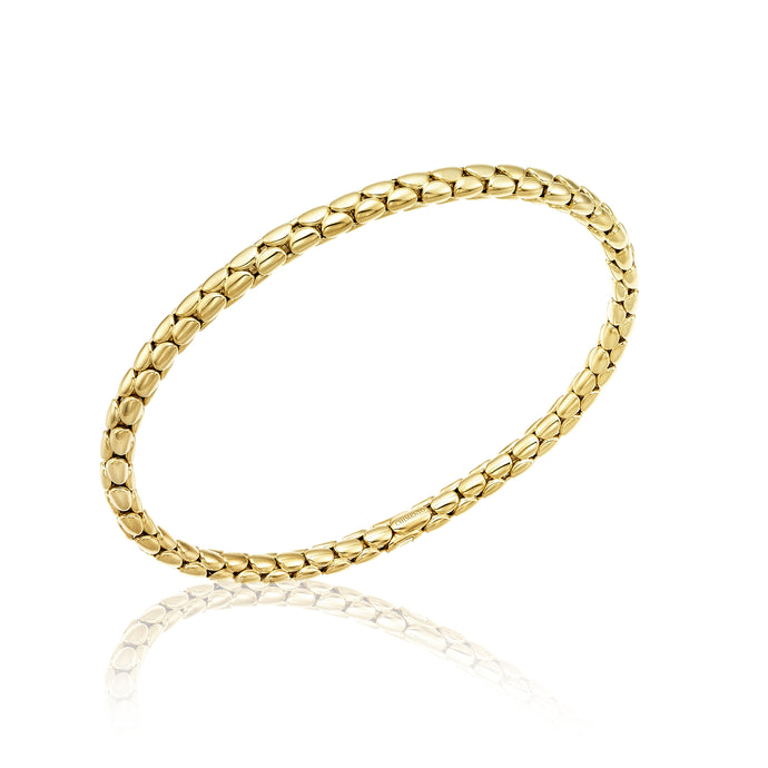 Chimento 18ct Gold Stretch Spring Bracelet