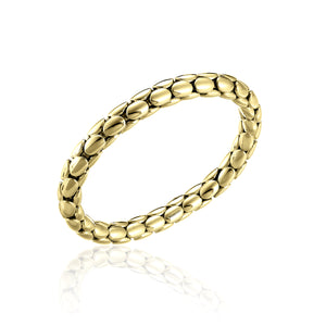 Chimento 18ct Yellow Gold Stretch Spring Bracelet