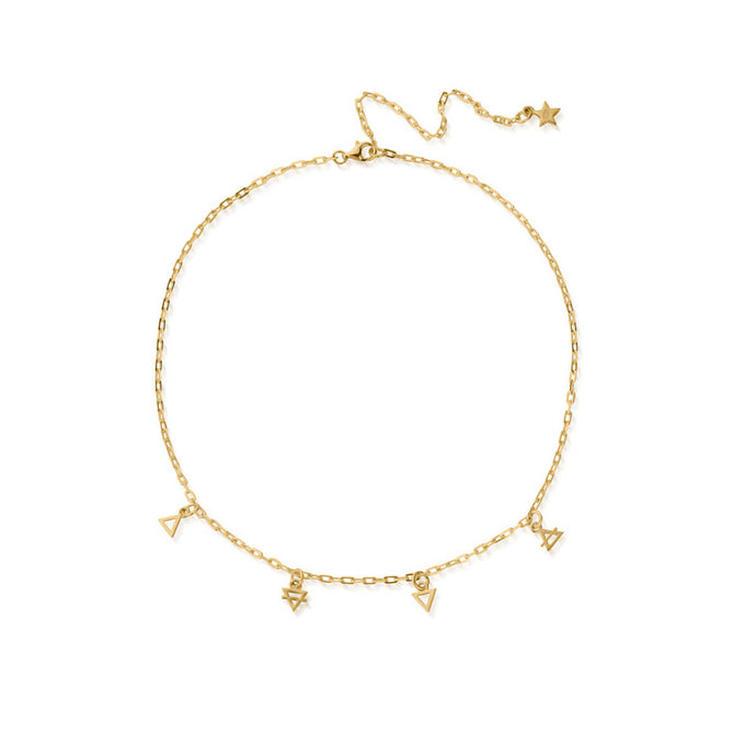 ChloBo multi-charm YGP Element choker