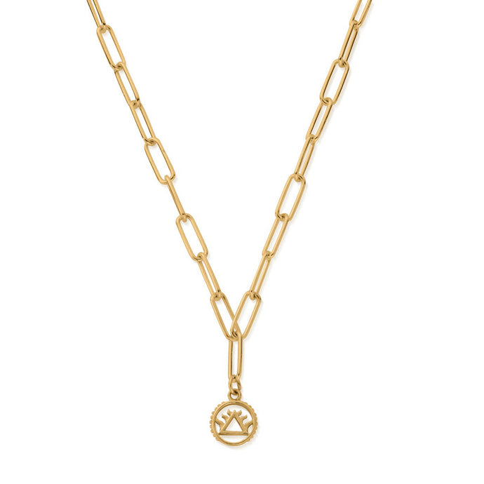 ChloBo YGP Link Chain Fire Necklace