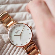 Load image into Gallery viewer, Obaku MOP Dial with Rose Link Bracelet