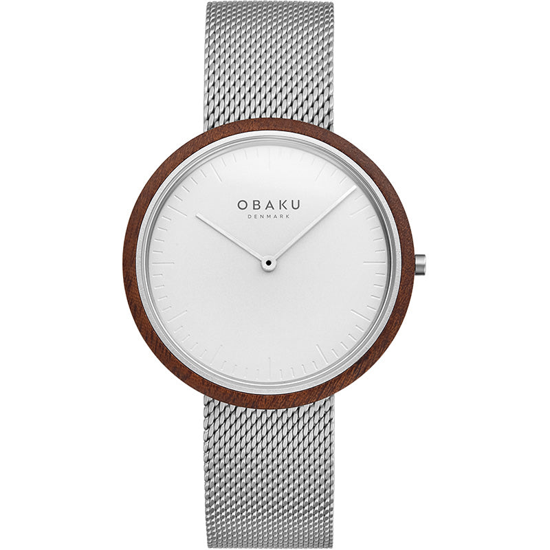 Obaku Mens TRAE - Steel watch