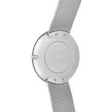 Load image into Gallery viewer, Obaku Mens TRAE - Steel watch