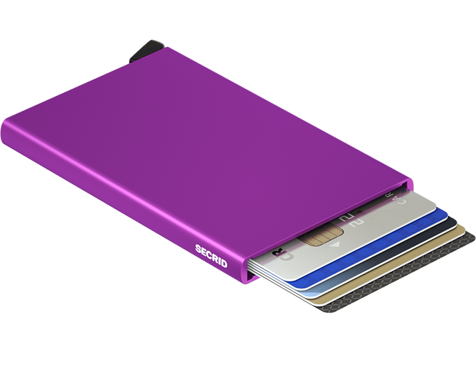 Secrid purple card protector