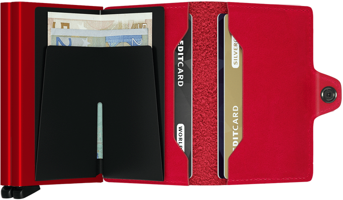 Twin Red Wallet