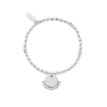 Load image into Gallery viewer, ChloBo Rice Moon and Star Charm Bracelet