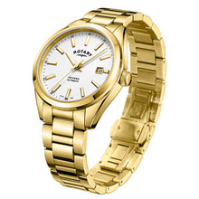 Load image into Gallery viewer, Rotary Havana Gold Plated Automatic Mens Watch
