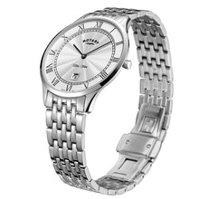 Load image into Gallery viewer, Rotary Ultra Slim White Gents Watch