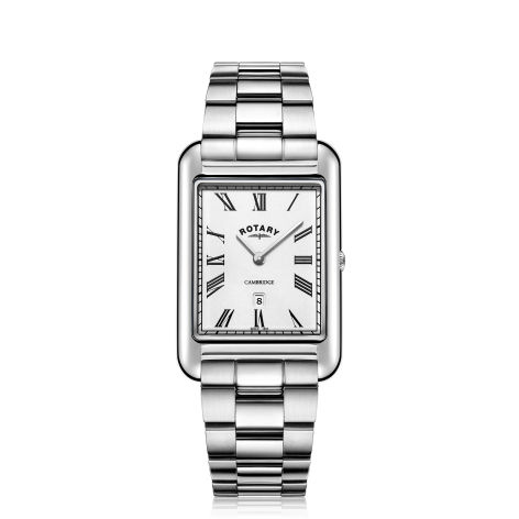 Rotary Gents Stainless Steel Bracelet Cambridge
