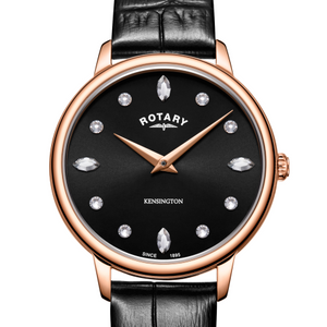 Rotary Kensington Rose Gold PVD Watch