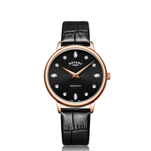 Load image into Gallery viewer, Rotary Kensington Rose Gold PVD Watch
