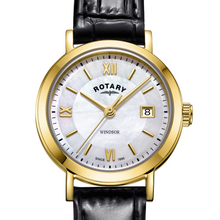 Load image into Gallery viewer, Rotary Gold Windsor Ladies Watch