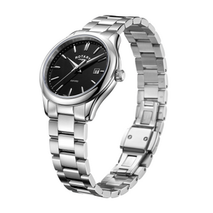 Rotary Stainless Steel Oxford Ladies Watch