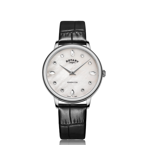 Rotary Kensington Stainless Steel ladies Watch