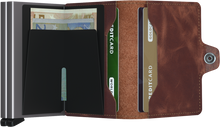 Load image into Gallery viewer, Twin Brown Vintage Wallet