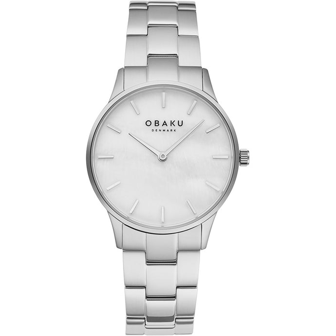 Obaku LYNG LILLE - Steel bracelet watch