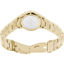 Load image into Gallery viewer, Obaku LYNG LILLE - Gold tone link bracelet, mother of pearl dial