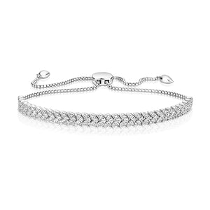 Sterling Silver Herring Bone Pattern Bracelet