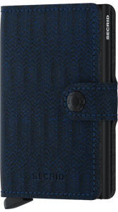 Navy Dash Mini-wallet