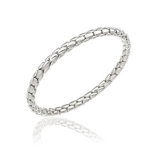 Chimento 18ct White Gold Stretch Spring Bracelet