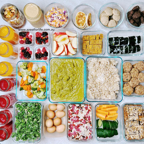 weekly meal prep 21 march 2021