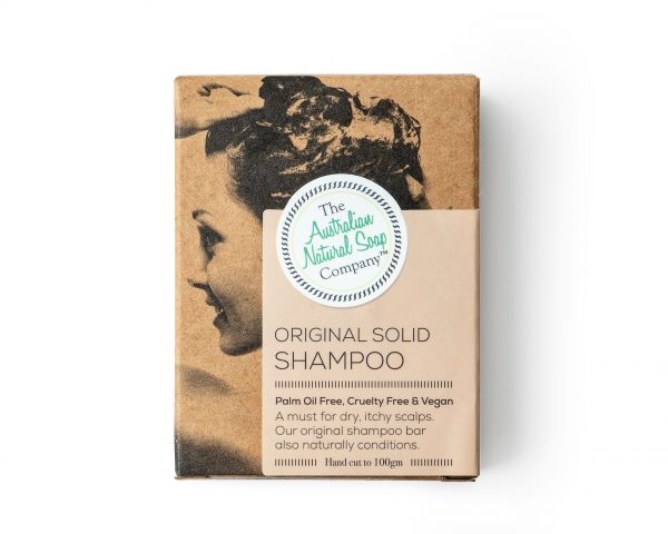 Solid Shampoo Bar - Original 100 gram