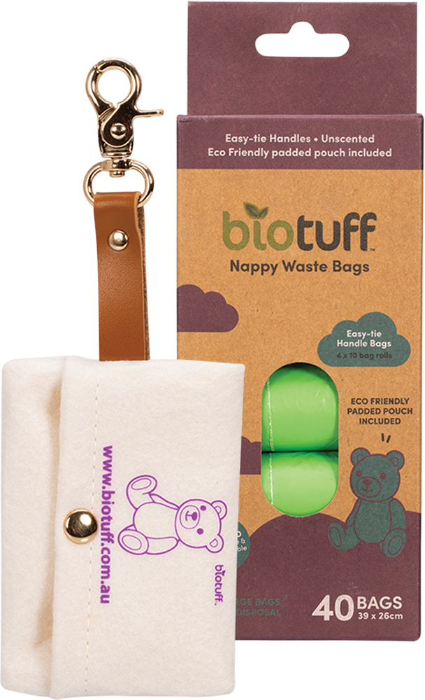 Biotuff Nappy Waste Bags & Dispenser