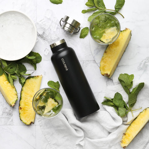 Ever Eco Stainless Steel Bottle Insulated - Onyx 750ml