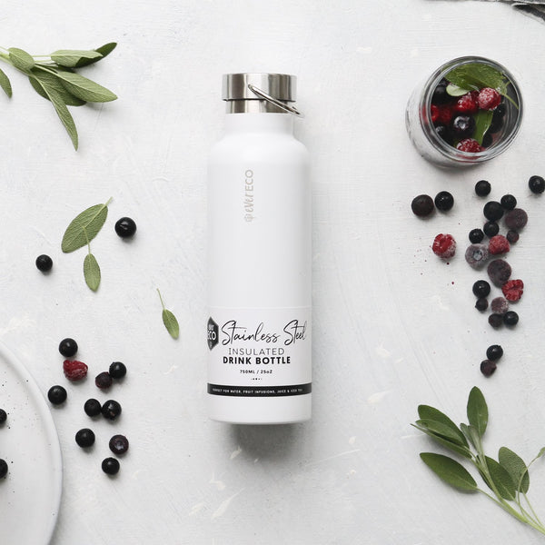 Stainless Steel Insulated Bottle - Cloud 750ml