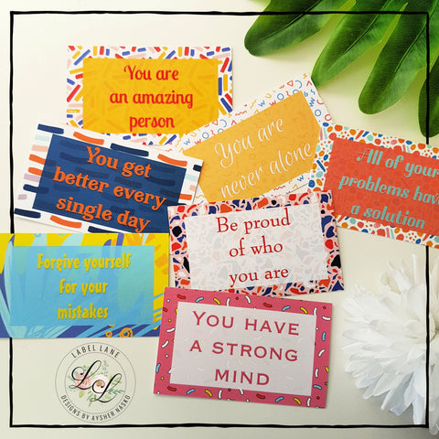 Label Lane Kids Affirmation Cards - A Zest for Life